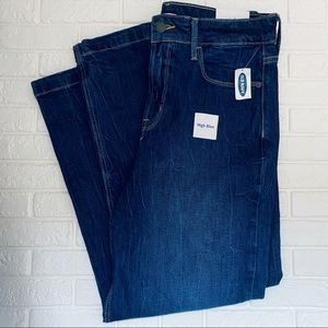 Old Navy High Rise Straight Jeans